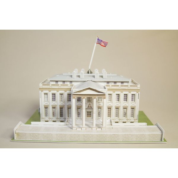 Just for Kids WHITE HOUSE 3D PUZZLE