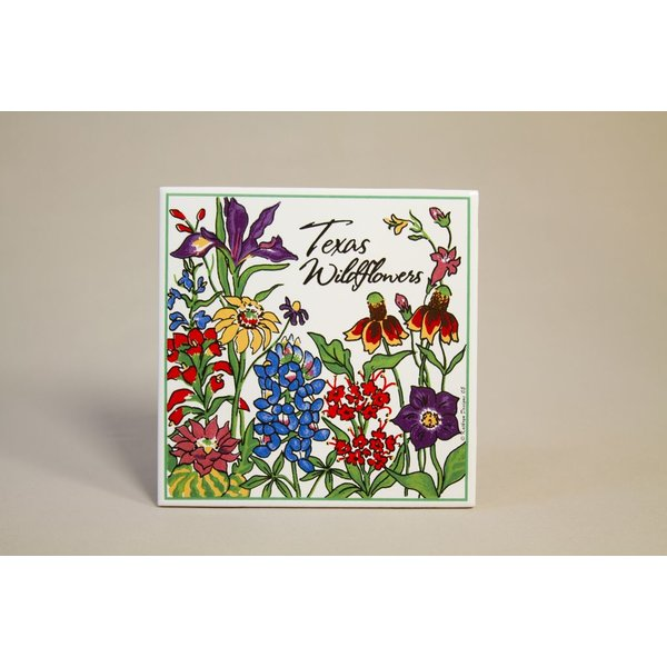 Texas Traditions WILDFLOWERS OF TEXAS TRIVET