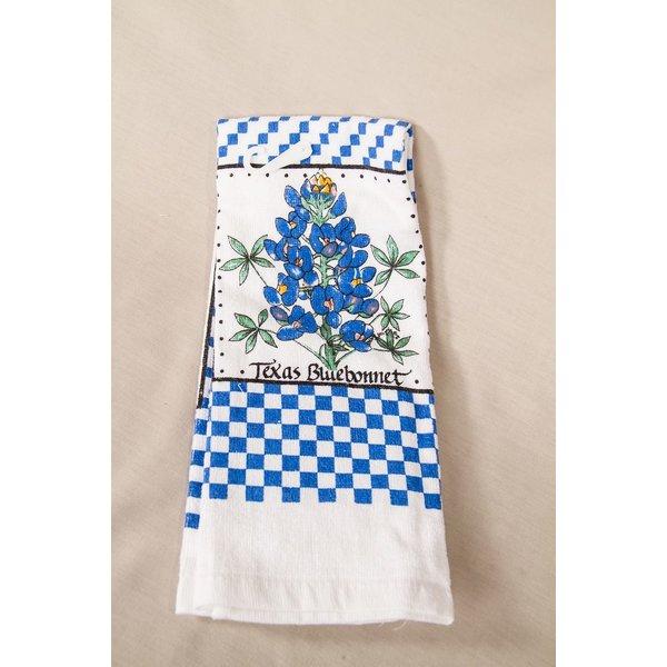 Texas Traditions TEXAS BLUEBONNET TOWEL