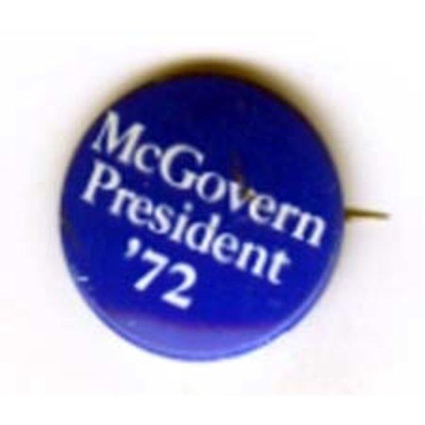 MCGOVERN PRESIDENT '72