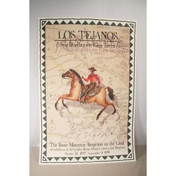Texas Traditions LOS TEJANOS POSTER
