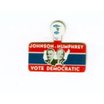 All the way with LBJ LARGE VOTE DEMO JOHNSON HUMPHREY TAB