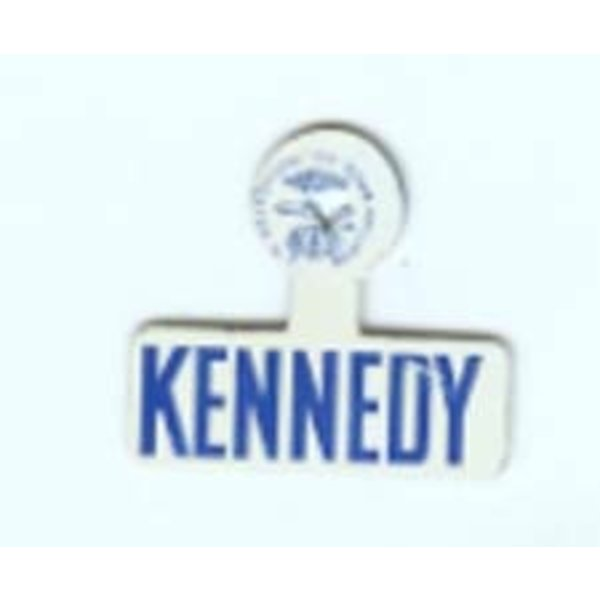 ORIGINAL JOHN F. KENNEDY WHITE TAB - 1960