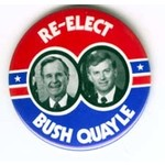 GHW BUSH RE-ELECT SMALL