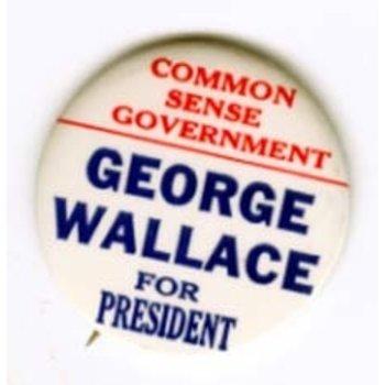 WALLACE COMMON SENSE GOVT '68