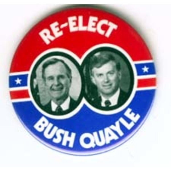 GHW BUSH RE-ELECT LARGE