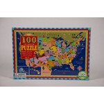 Just for Kids THIS LAND IS YOUR LAND 100PC PUZZLE