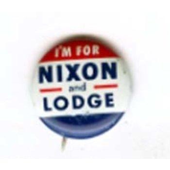 I'M FOR NIXON AND LODGE