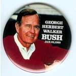 GEORGE HERBERT WALKER BUSH  1/20/89