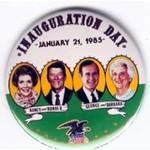 REAGAN 1985 INAUGURATION DAY