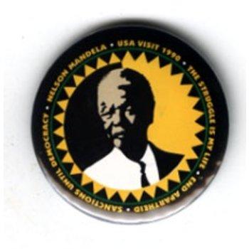 MANDELA NELSON 1990 USA VISIT