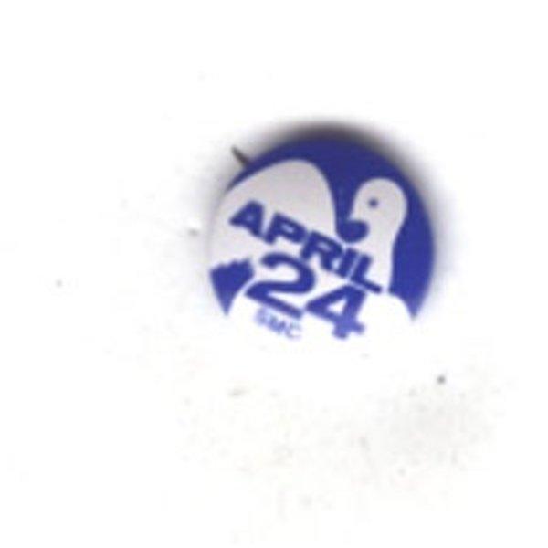 PEACE APRIL 24 BLUE
