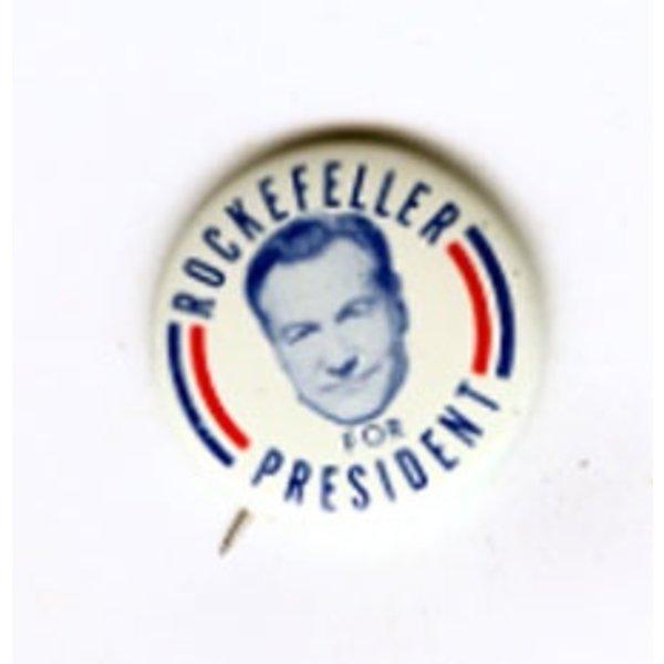 LARGE ROCKEFELLER FOR PRES