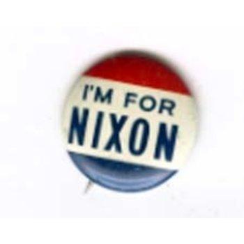 I'M FOR NIXON THIN