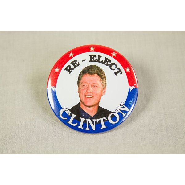 CLINTON RE-ELECT COLOR
