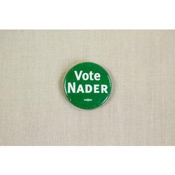 NADER VOTE GREEN LITHO