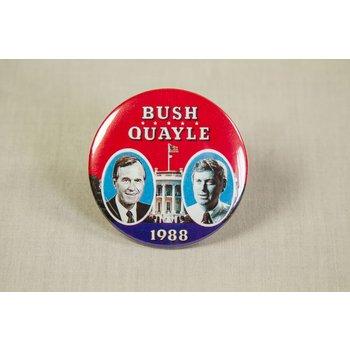 GHW BUSH QUAYLE  JUGATE 1988