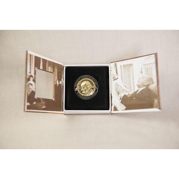 CUSTOM LBJ 50TH ANNIVERSARY COIN