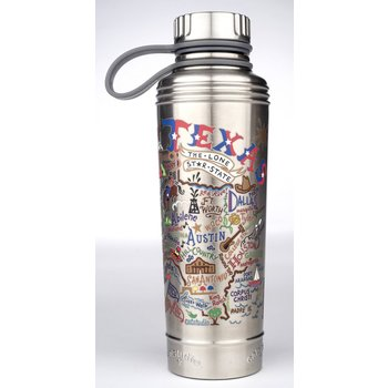 TEXAS STAINLESS STEEL 18 oz BOTTLE