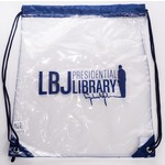 LBJ LIBRARY CLEAR STADIUM BACKPACK