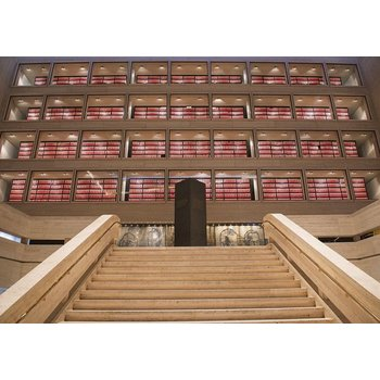 LBJ LIBRARY GREAT HALL ARCHIVES POSTCARD