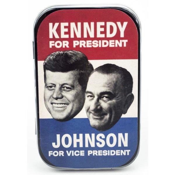 JFK and LBJ Mints
