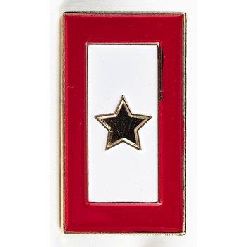 Patriotic GOLD STAR SERVICE FLAG LAPEL TAC PIN