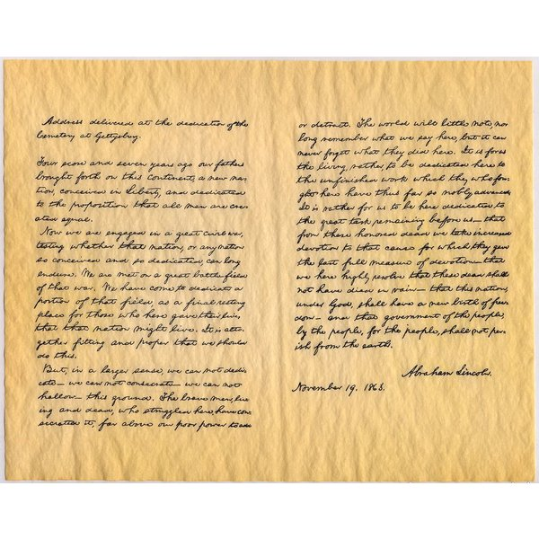 """Patriotic THE FOUR DOCUMENTS OF FREEDOM - SET 14""""x16"""""""