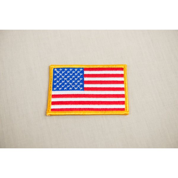 US FLAG PATCH 2X3
