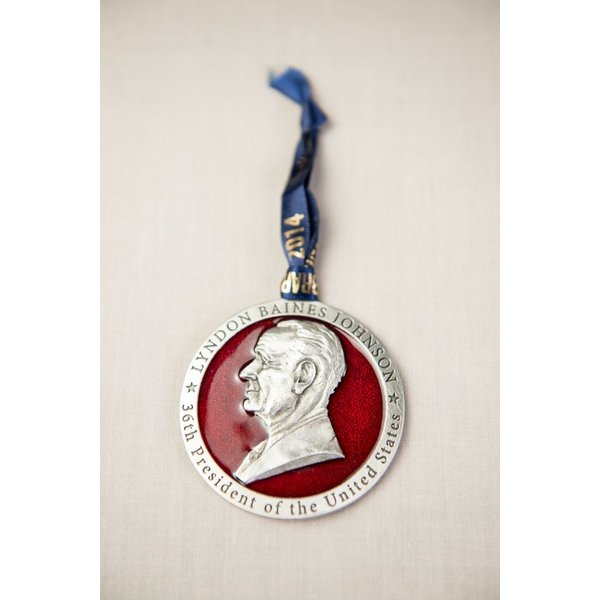 All the way with LBJ LBJ PEWTER ORNAMENT