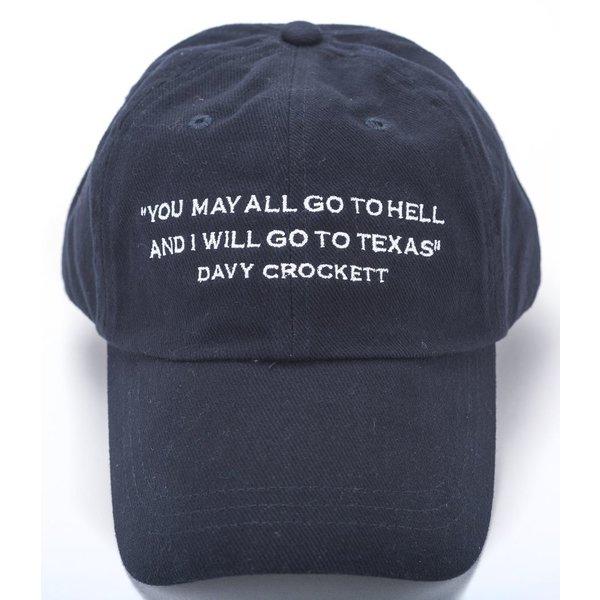 Texas Traditions DAVY CROCKETT CAP