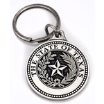 Texas Traditions TEXAS STATE SEAL KEYCHAIN