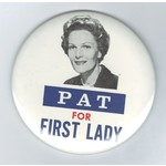 """PAT FOR FIRST LADY 3.5"""""""