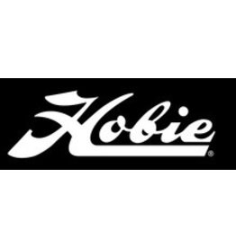 "Hobie DECAL ""HOBIE"" SCRIPT WHT 24"""