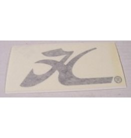 """Hobie DECAL  FLYING """"H"""" SMALL BLK"""