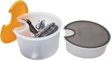 "Hobie Hobie Deep Gear Bucket for Hobie 8"" Twist and Seal kayak hatches"
