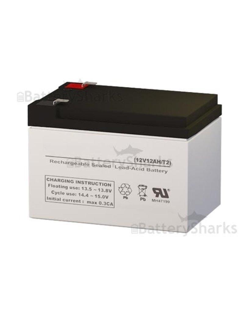 Battery Shark Fish Finder Battery - 12 volt, 12AH