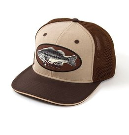 Hobie Hobie Hat, Tan/Brown, Bass Patch