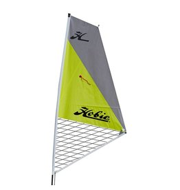 Hobie Hobie Sail Kit for Hobie Kayaks Silver over Chartreuse