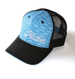 Hobie HAT, FISH PATTERN BLUE/BLACK