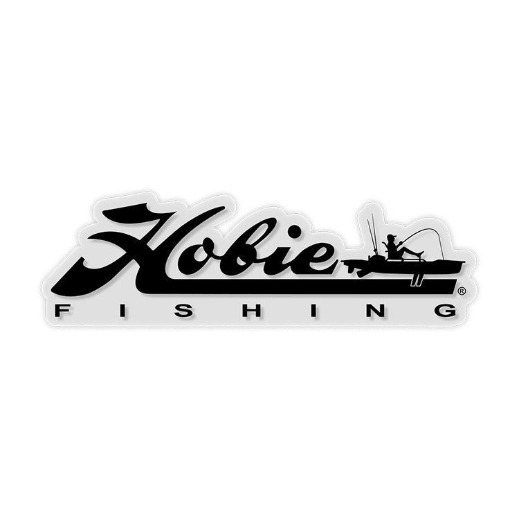 "Hobie Hobie Decal, ""Hobie Fishing"", Black 12"""