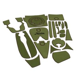 Hobie Hobie Mat Kit for Hobie Outback Kayak - Green/Espresso