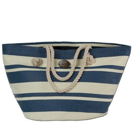 Panama Jack Panama Jack Tote stripe bag, Blue