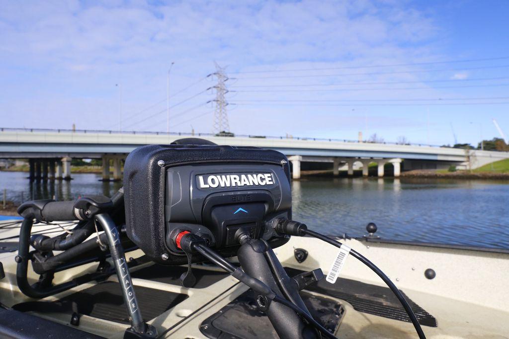 BerleyPro BerleyPro Fishfinder Visor for Lowrance Elite 7 TI