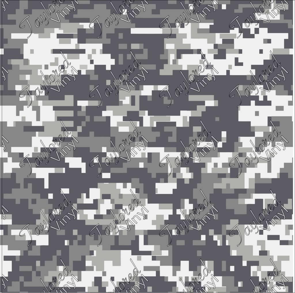 Siser Camo Digital Urban Printed Htv Taylored Vinyl