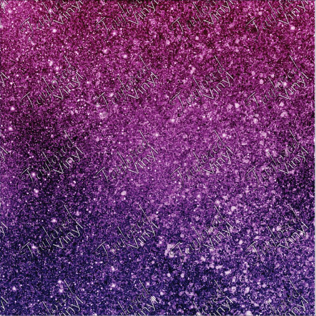 Oracal Ombre Glitter Pink And Purple Printed Vinyl