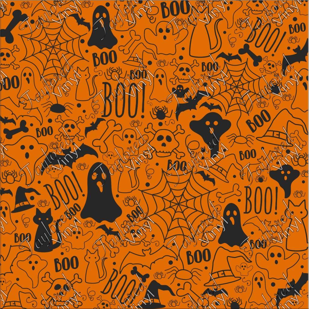 oracal halloween theme 03 printed vinyl - taylored vinyl