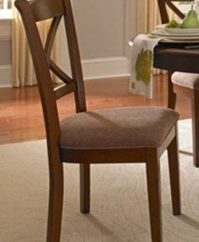 DINING DESOTO X BACK SIDE CHAIR