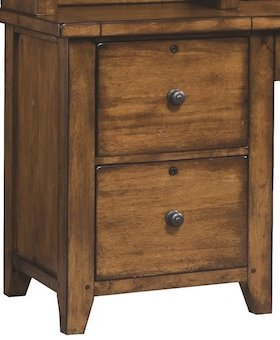 FILE CABINET CROSS COUNTRY 2 DRAWER MODULAR FILE MANGO