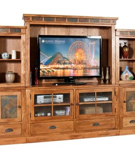 ENTERTAINMENT 6 PIECE SEDONA WALL UNIT